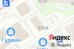 Схема проезда до компании Мебель Тут Дешевле в Перми