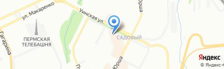 Мебель Records на карте Перми