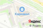 Схема проезда до компании Вольт в Перми