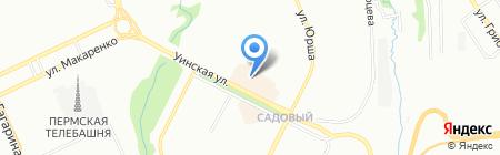Светлая лавка на карте Перми