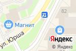 Схема проезда до компании Ми-мишки и розы в Перми
