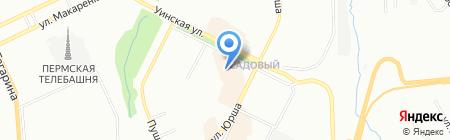 Ассорти на карте Перми