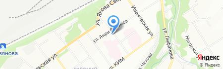 Рябина на карте Перми