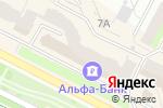 Схема проезда до компании Джинсовый дисконт в Перми