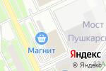 Схема проезда до компании Стройинновация в Перми