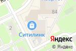 Схема проезда до компании Золотая луна в Перми