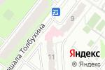 Схема проезда до компании Поликлиника №3 в Перми