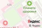 Схема проезда до компании Женская консультация №2 в Перми