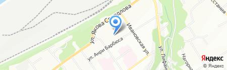 Косна на карте Перми