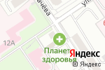 Схема проезда до компании Центр авторазбора в Перми