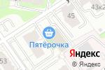 Схема проезда до компании Кокетка в Перми