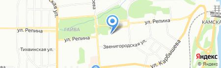 Магнит на карте Перми