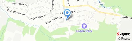 Детский сад №321 на карте Перми