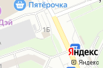 Схема проезда до компании Bosh-Сервис в Перми