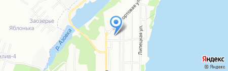 Средняя общеобразовательная школа №66 на карте Перми