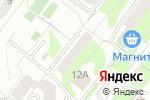 Схема проезда до компании Абсолют СЭМ в Перми