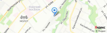 ТехСнабКомплект на карте Перми