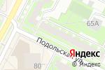 Схема проезда до компании Автошкола Вираж в Перми