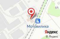 Схема проезда до компании Завод Промсвязь в Перми