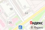 Схема проезда до компании Пиксель в Перми