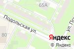Схема проезда до компании Садко в Перми