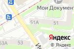 Схема проезда до компании Уральская 51а в Перми