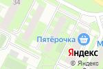 Схема проезда до компании Магазин кондитерских изделий на Уинской в Перми