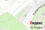 Схема проезда до компании Подряд Сервис в Перми