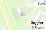 Схема проезда до компании Антей в Перми