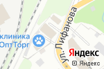 Схема проезда до компании Мастерская кузовного ремонта в Перми