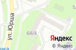 Схема проезда до компании Улыбка в Перми