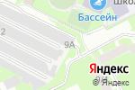 Схема проезда до компании На Садовом в Перми