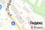 Схема проезда до компании ТанСтрой в Перми