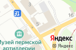 Схема проезда до компании Ниссан-маркет в Перми