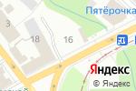 Схема проезда до компании Евросеть в Перми
