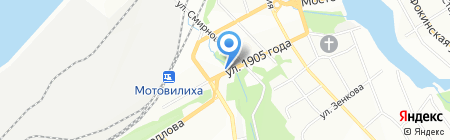 220 вольт на карте Перми