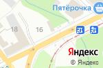 Схема проезда до компании 220 вольт в Перми