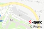 Схема проезда до компании Anaconda в Перми