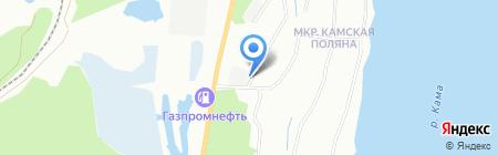 Супер Дизель на карте Перми