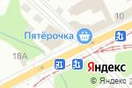 Схема проезда до компании Альпари в Перми