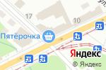 Схема проезда до компании Белая роза в Перми