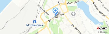 Алькор на карте Перми