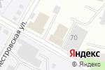Схема проезда до компании Производственная фирма в Перми