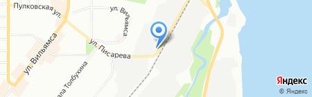 Мехматика на карте Перми