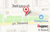 Схема проезда до компании Магазин цветов на Ленина в Звездном