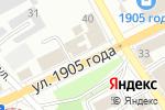 Схема проезда до компании Электросклад в Перми