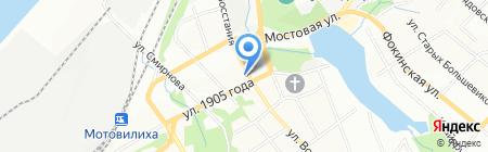 Скарлетт на карте Перми