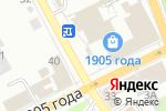 Схема проезда до компании А Абавто в Перми
