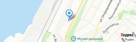 УралСнаб на карте Перми