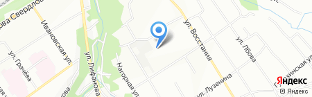 РАСТ на карте Перми